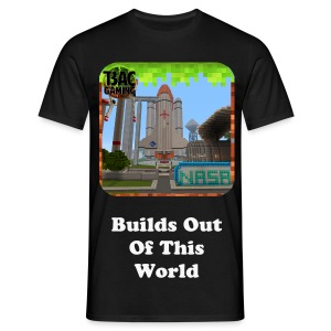 Builds Out Of This World Glow In The Dark T-shirt - Men's T-Shirt