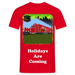Holidays Are Coming Glitter T-shirt - Men's T-Shirt