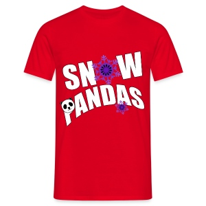 TEAM Snow Pandas - Men's T-Shirt