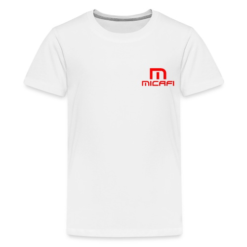Micafi Black T-shirt - Teenage Premium T-Shirt