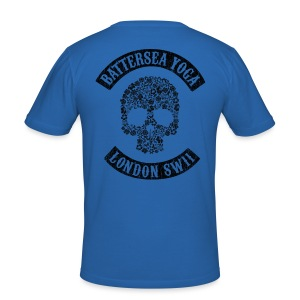 Sons of Battersea Men's t-shirt (black logo) - Men's Slim Fit T-Shirt