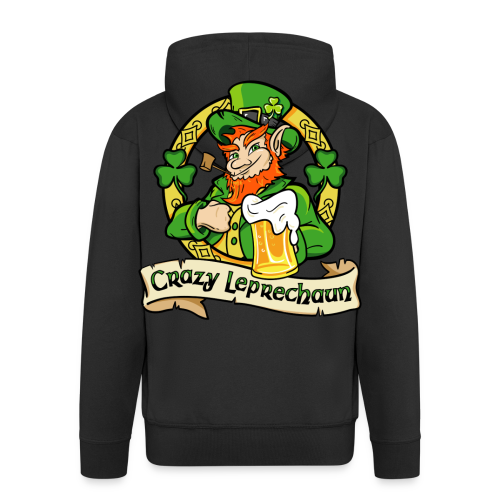 Veste Homme Crazy Leprechaun 2016 - Veste à capuche Premium Homme