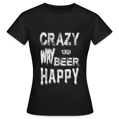 T-Shirt Femme Crazy Leprechaun 2016 - T-shirt Femme