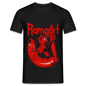 Rampart - Demon Lover Cartoon - Miesten t-paita