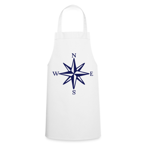 Windrose mit Himmelsrichtungen Kochschürze - Kochschürze