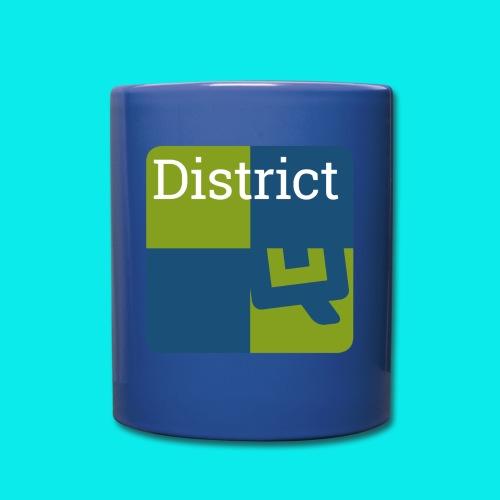 District - Tasse einfarbig