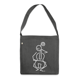Baroque cellist - Shoulder Bag made from recycled material