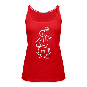 Baroque cellist - Women's Premium Tank Top