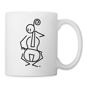 Baroque cellist [single-sided] - Mug