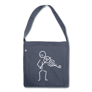 Baroque violist - Shoulder Bag made from recycled material