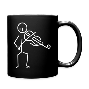 Baroque violist [double-sided] - Full Colour Mug