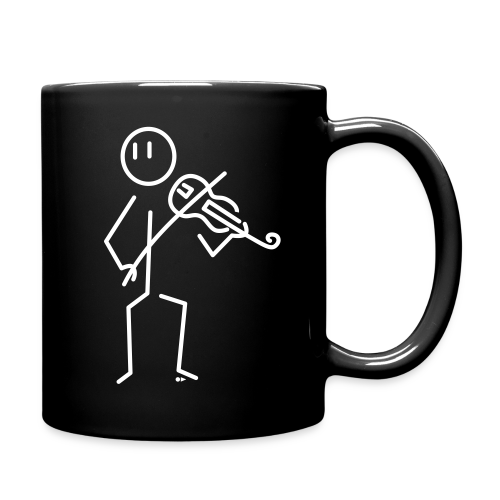 Baroque violinist [double-sided] - Full Colour Mug