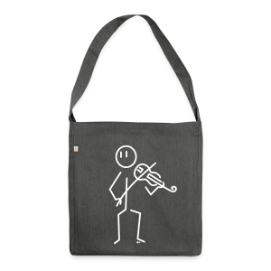 Baroque violinist - Shoulder Bag made from recycled material
