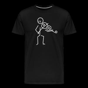 Baroque violist  - Men's Premium T-Shirt
