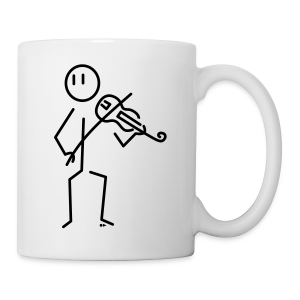 Baroque violinist [single-sided] - Mug