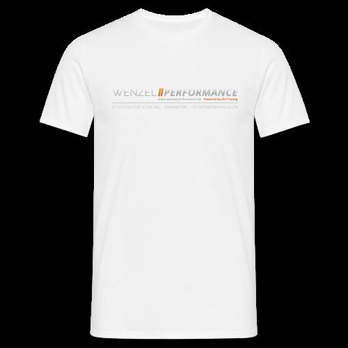 WPM Extended Logo Shirt White - Männer T-Shirt