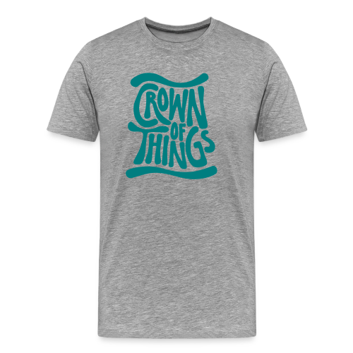 Crown of Things T-Shirt - Männer Premium T-Shirt