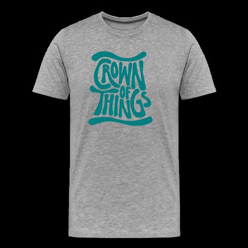 Crown of Things T-Shirt - Männer Premium T-Shirt