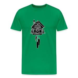 Kuckucksuhr 2 - Männer Premium T-Shirt