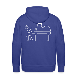 Grand pianist - Men's Premium Hoodie