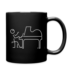 Grand pianist [double-sided] - Full Colour Mug