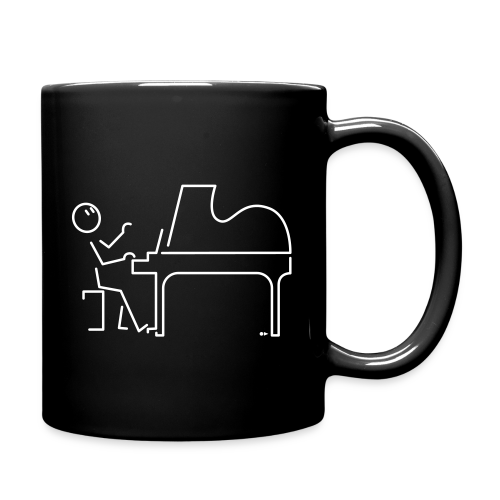 Grand pianist [double-sided] - Full Colour Mug