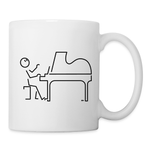 Grand pianist [single-sided] - Mug