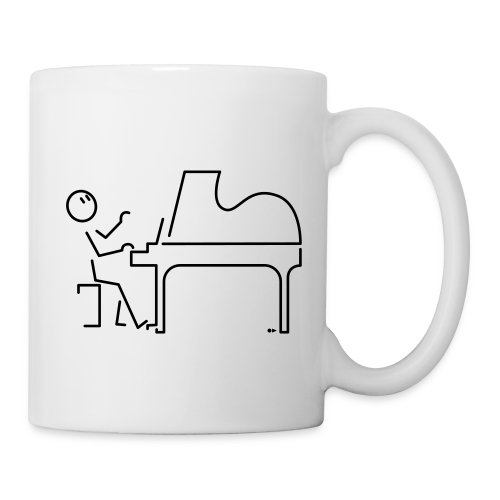 Grand pianist [single-sided] - Mug