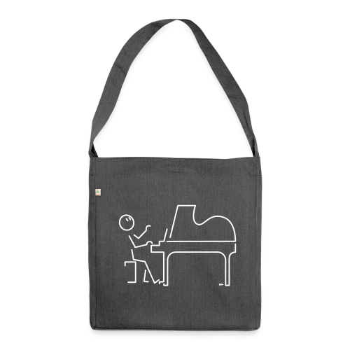 Grand pianist - Shoulder Bag made from recycled material
