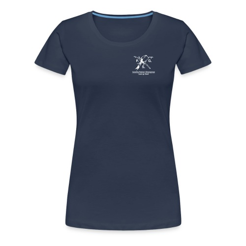 Shirt Scouting P.S.G. 1994-2013 Vrouwen - Vrouwen Premium T-shirt
