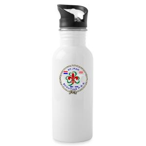 jubileum drinkfles 20 jaar Scouting P.S.G. kleur - Drinkfles