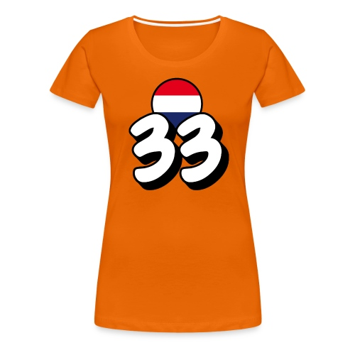 Max Dames-Shirt 33 - Vrouwen Premium T-shirt