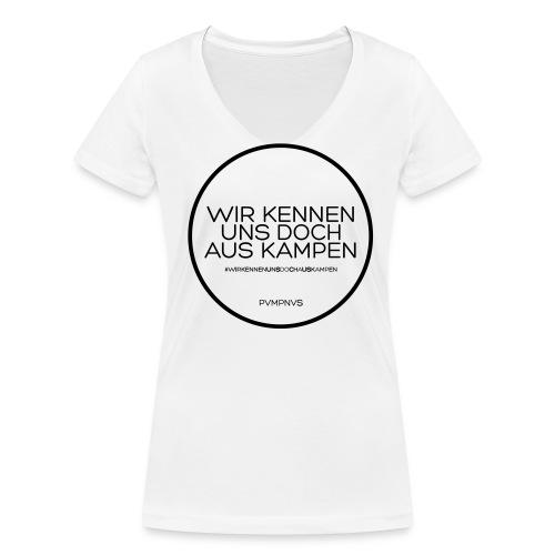 Woman V-Neck - Frauen Bio-T-Shirt mit V-Ausschnitt von Stanley & Stella