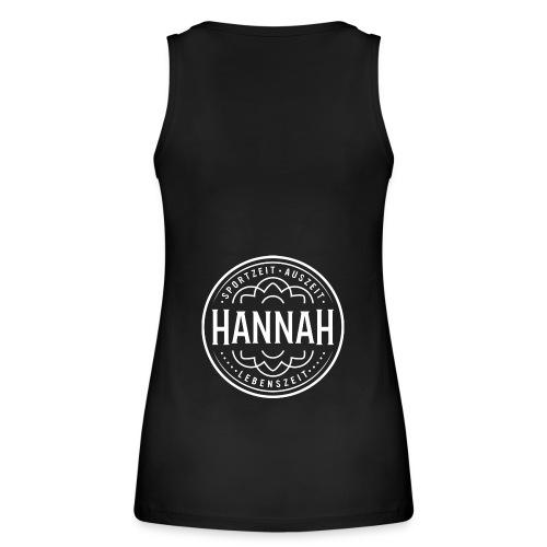 Damen-Tanktop Hanna SAL, schwarz, Logo Rücken - Frauen Bio Tank Top von Stanley & Stella