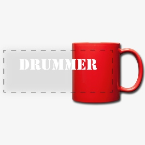 Drummer Mug - Full Color Panoramic Mug