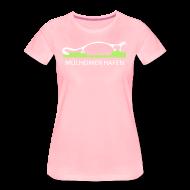 T-Shirts ~ Frauen Premium T-Shirt ~ Mülheimer Hafenkatze