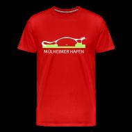 T-Shirts ~ Männer Premium T-Shirt ~ Mülheimer Hafenkater