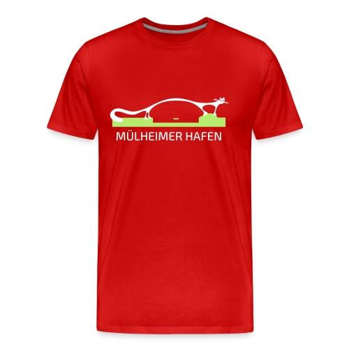 Mülheimer Hafenkater - Männer Premium T-Shirt