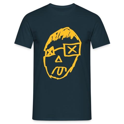 BTOD T-Shirt N. Face mit Logo - Männer T-Shirt