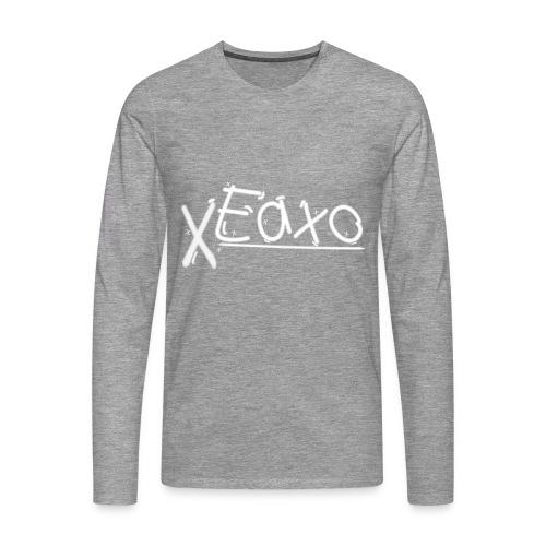 XEaxoFan Polover - Männer Premium Langarmshirt