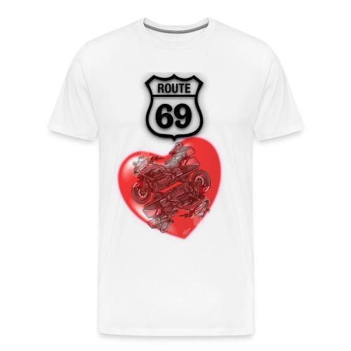 Route 69 Goldwing - T-shirt Premium Homme