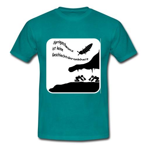 Springschwanz Männer T-Shirt B&C - Männer T-Shirt