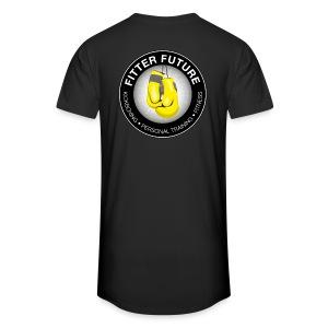 Long t-shirt mannen Logo back - Mannen Urban longshirt
