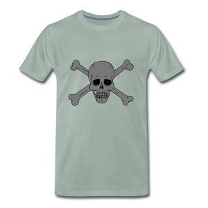 Totenschädel 2 - Männer Premium T-Shirt