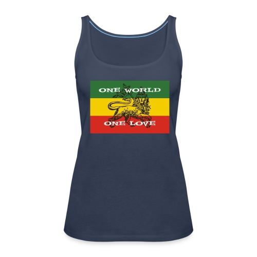 One world - one love - Frauen Premium Tank Top