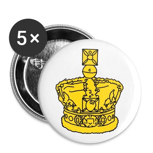 Krone 2 - Buttons klein 25 mm