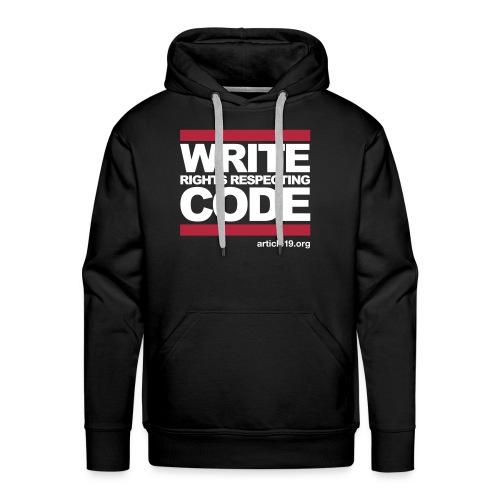 Hoodie 2 Write Code - Men's Premium Hoodie