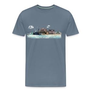 Rostock - 01 - Männer Premium T-Shirt