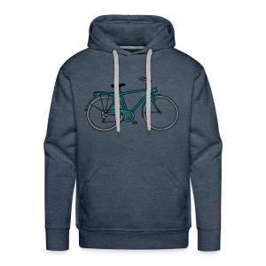 Fahrrad 3 - Männer Premium Hoodie