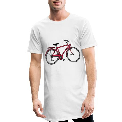 Fahrrad 3 - Männer Urban Longshirt